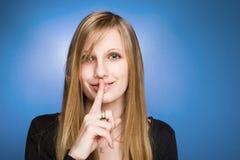 Mis secretos? Foto de archivo libre de regalías
