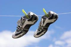 Mis zapatos Imagen de archivo libre de regalías