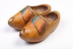 Mis zapatos de madera imágenes de archivo libres de regalías