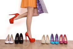 Mis zapatos del favorito. foto de archivo