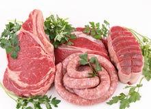 mięsa surowi Obrazy Royalty Free