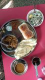 Misal & x28 Ινδικό Food& x29  Στοκ Φωτογραφίες