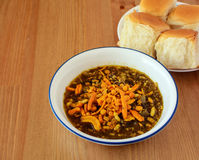 Misal Paav, a famous snack in Maharashtra, India Stock Photo
