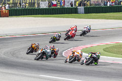 Misano Moto2 race, Italy. Misano Moto2 race Italy. Misano Adriatico, September 14, 2014 Stock Photo