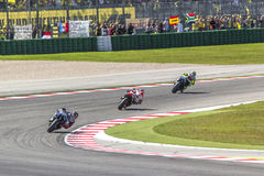 Misano MotoGP race. Stock Photos