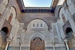 Misbahiya medersa at Fez, Morocco Royalty Free Stock Image