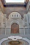 Misbahiya medersa at Fez, Morocco Royalty Free Stock Photography