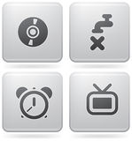 Misc Internet Icons Stock Photos