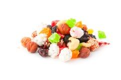 Miscela asciutta di frutti Fotografia Stock