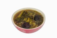Miscela cinese della minestra di verdure fotografia stock