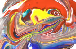 Miscela colorata Immagini Stock