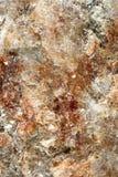 Miscela colorata dei minerali che formano materiale illustrativo astratto immagini stock