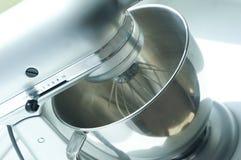 Miscela d'argento moderna del supporto della cucina Fotografie Stock Libere da Diritti