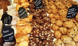 Miscela dei biscotti dolci Fotografia Stock
