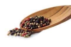 Miscela dei semi del pepe Immagini Stock Libere da Diritti