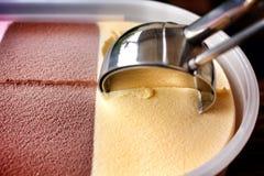 Miscela del gelato Fotografie Stock Libere da Diritti