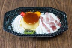 Miscela del gelato Fotografie Stock