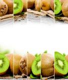 Miscela del kiwi Immagine Stock