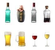 Miscela dell'alcool Fotografie Stock Libere da Diritti