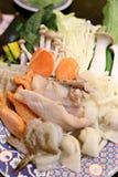 Miscela dell'insieme della verdura Fotografia Stock Libera da Diritti