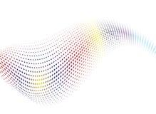 Miscela dell'onda del Rainbow Fotografia Stock Libera da Diritti