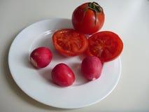 Miscela della frutta e delle verdure fresche Immagini Stock