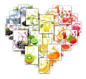 Miscela della spruzzata della frutta Immagini Stock