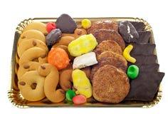 Miscela delle pasticcerie e dei biscotti Immagine Stock Libera da Diritti