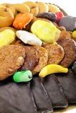 Miscela delle pasticcerie e dei biscotti Fotografia Stock Libera da Diritti