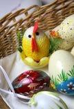 Miscela delle uova di Pasqua vive multicolori Fotografia Stock Libera da Diritti