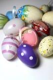 Miscela delle uova vive multicolori di Easer Fotografia Stock Libera da Diritti
