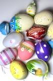 Miscela delle uova vive multicolori di Easer Fotografie Stock Libere da Diritti