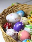 Miscela delle uova vive multicolori di Easer Immagini Stock