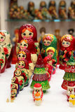 Miscela di Russo Babushkas Fotografia Stock Libera da Diritti