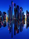 Miscela di Soundwaves Immagini Stock Libere da Diritti
