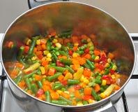 Miscela di verdure messicana Fotografia Stock