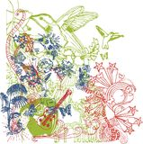 Miscela grafica 04 Immagini Stock