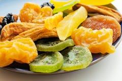 Miscela secca di frutti tropicali Fotografie Stock Libere da Diritti