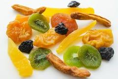 Miscela secca di frutti tropicali Immagini Stock
