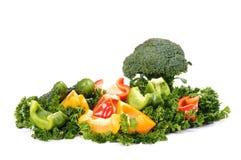 Miscela vegetariana fresca Fotografia Stock Libera da Diritti