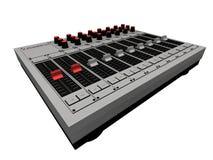 Miscelatore del DJ illustrazione vettoriale