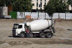 Miscelatore di cemento Immagine Stock Libera da Diritti