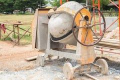 Miscelatore di cemento Immagini Stock