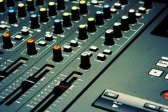 Miscelatore - il genere musicale Immagine Stock
