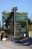 Miscelatore industriale di cemento e della sabbia Immagine Stock Libera da Diritti