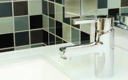 Miscelatore per un washstand Fotografie Stock Libere da Diritti
