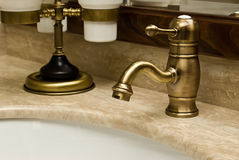 Miscelatore per un washstand Fotografia Stock