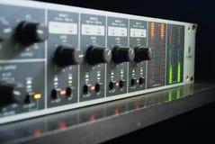 Miscelatore radiofonico Fotografia Stock Libera da Diritti