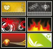Miscellaneous Card Collection Royalty Free Stock Images