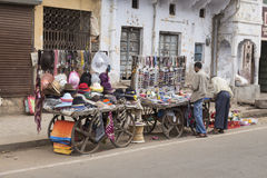 Miscellaneous cart stall Royalty Free Stock Images